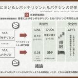 【文献】ザイザルとルパフィンの有効性、安全性比較(ビジアブ付き)